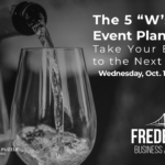 The 5 W's of Event Planning
